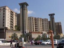 Al Ghurair City Shopping Mall i Dubai Arkivbild