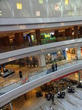 Al Ghurair City Shopping Mall i Dubai Royaltyfri Fotografi
