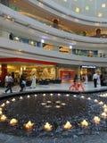 Al Ghurair City Shopping Mall i Dubai Arkivfoton