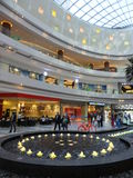 Al Ghurair City Shopping Mall i Dubai Arkivbilder