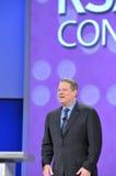 Al Gore à la conférence de la RSA Photographie stock libre de droits