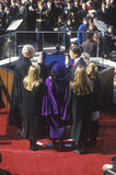 Al Gore, taking oath as Vice President Royalty Free Stock Photo