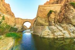 Al Guentra峡谷 库存照片