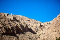 Al-Habashi Nebek de la Syrie - de Deir mars Musa image stock