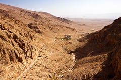 Al-Habashi Nebek de la Syrie - de Deir mars Musa photo stock