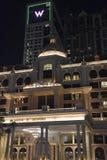 Al Habtoor市在迪拜,阿拉伯联合酋长国 库存图片