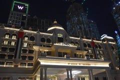 Al Habtoor City en Dubai, UAE Foto de archivo libre de regalías