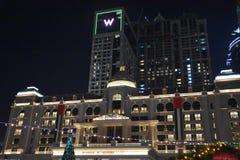 Al Habtoor City en Dubai, UAE Imágenes de archivo libres de regalías