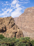 Al Hajar Mountains in Oman Stockfoto