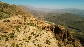 Al Hajar Mountains van Oman stock video