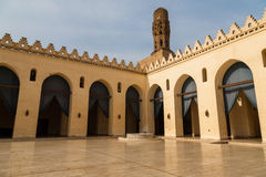 Al-Hakim Mosque. Is a major Islamic religious site in Cairo, Egypt. It is named after Imam Al-Hakim bi-Amr Allah (985–1021), the sixth Fatimid caliph,16 th Royalty Free Stock Photos