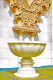 Al-hambra a dénommé l'architecture de fontaine et de moorish Photo libre de droits