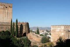 Al Hambra, Granada Immagini Stock Libere da Diritti