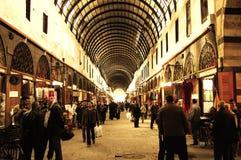 Al-Hamidiyah Souq - Syrië royalty-vrije stock afbeeldingen