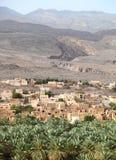 Al-Hamra χωριό, Ομάν στοκ εικόνες