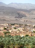 Al-Hamra Village, Oman Stock Images