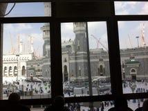 Al-Haraam di Masjid in La Mecca fotografie stock libere da diritti