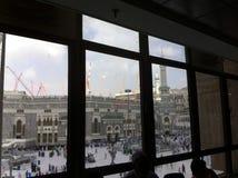 Al-Haraam Masjid в мекке Стоковая Фотография
