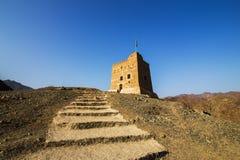 Al Hayl堡垒,富查伊拉 图库摄影