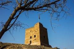Al Hayl堡垒,富查伊拉 库存图片