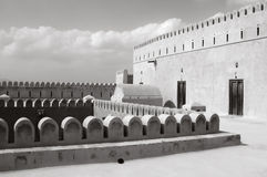 Al Hazm Fort in Oman Stock Photography