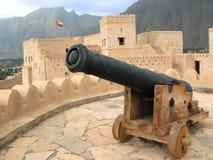 Al Hazm Fort in Oman Lizenzfreies Stockbild