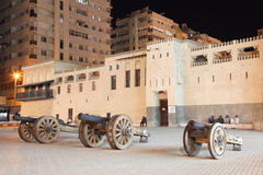 Al Hisn Fort in Sharjah Royalty-vrije Stock Afbeelding