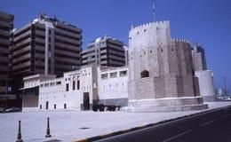 Al Hisn Fort Sharjah Royaltyfri Fotografi