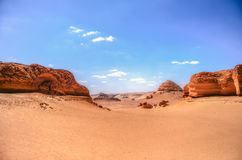 Al Hitan Wadi Στοκ Φωτογραφίες
