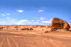 Al Hitan Wadi Στοκ Φωτογραφία