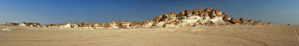 Al Huqf desert stock photo