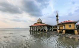Al Hussain Mosque Malaysia stock photography