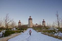AL hussein bak talal moskee Royalty-vrije Stock Foto's