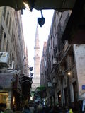 Al-Hussein bazaar _Cairo stock photos