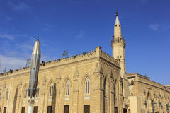 Al-Hussein Mosque Lizenzfreies Stockfoto