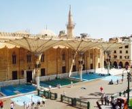 Al-Hussein Mosque Fotografie Stock