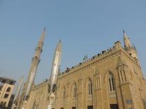 Al-Hussein Mosque, Kairo Stockbilder