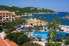 Al Inclusief hotel-Mexico Royalty-vrije Stock Foto's