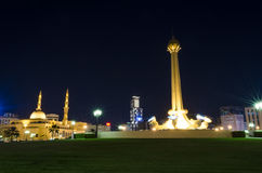 Al Itihad park Sharjah UAE Royalty Free Stock Photos
