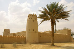 Al Jahili Fort. UAE, Al Ain, Al Jahili Fort, built in 1898 by Sheikh Zayed the First Royalty Free Stock Photos