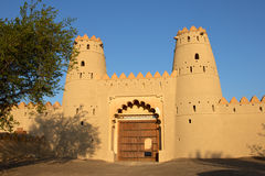 Al Jahili Fort Stock Afbeeldingen