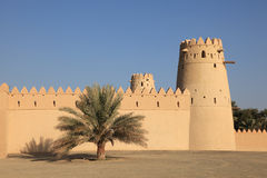 Al Jahili fort in Al Ain Stock Photos