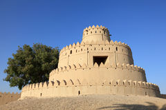 Al Jahili fort in Al Ain Royalty Free Stock Photography