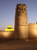 Al Jahili fort in Al Ain Royalty-vrije Stock Foto's