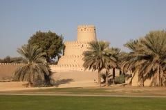 Al Jahili fort in Al Ain Royalty Free Stock Photo