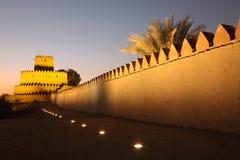 Al Jahili fort in Al Ain Stock Photography