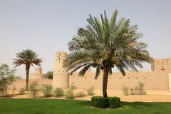Al Jahili Fort in Al Ain, Abu Dhabi Stock Photo
