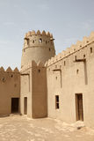 Al Jahili Fort in Al Ain, Abu Dhabi Stock Images