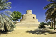Al Jahili Fort, Al Ain Royalty Free Stock Images