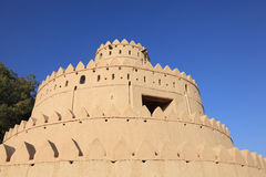Al Jahili fort in Al Ain, UAE Stock Photo